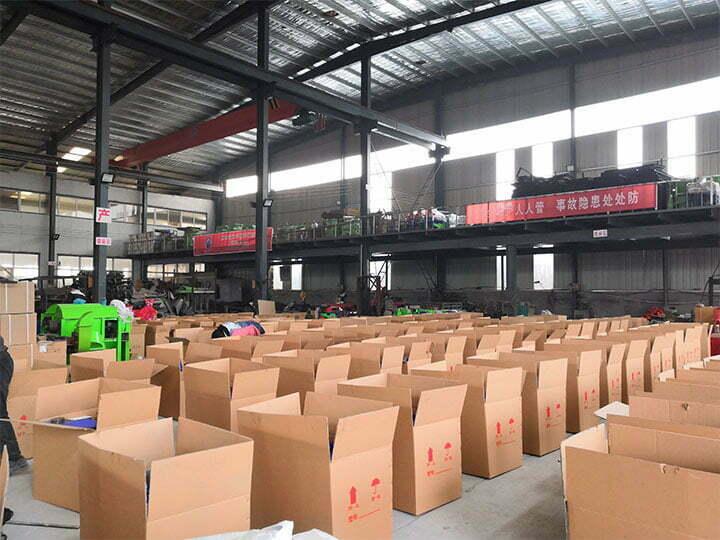 carton shredding machine factory