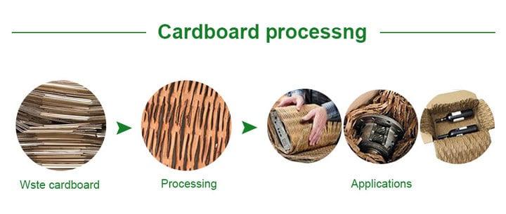 Cardboard processing