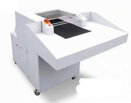 Cover-paper shredder